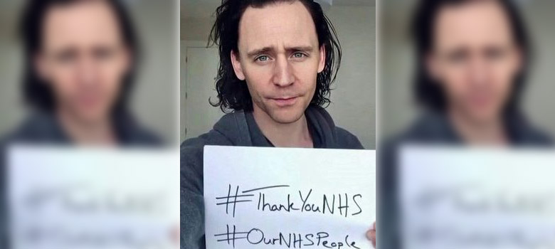 Tom joins group Thank You video for the UK NHS