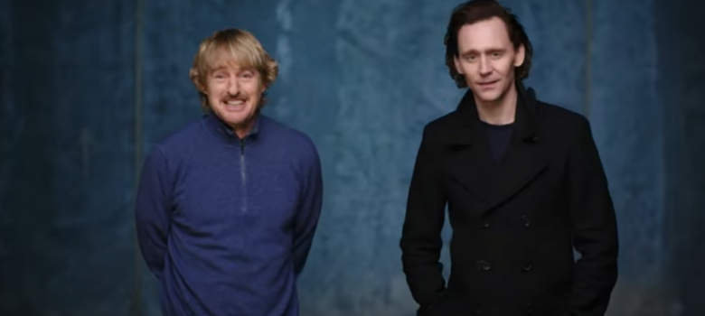 Tom Hiddleston and Owen Wilson present the new Loki Poster