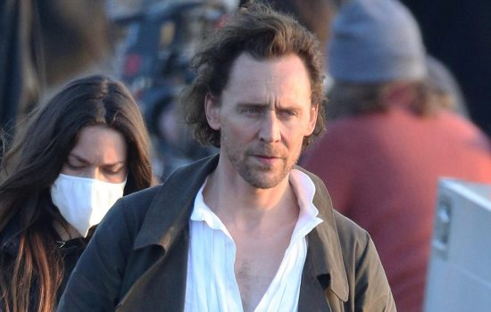 The Essex Serpent New Behind Scenes Photos of Tom Hiddleston and Claire Danes