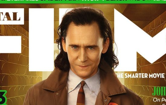 Total Film Magazine June – Tom Hiddleston Featured on Cover