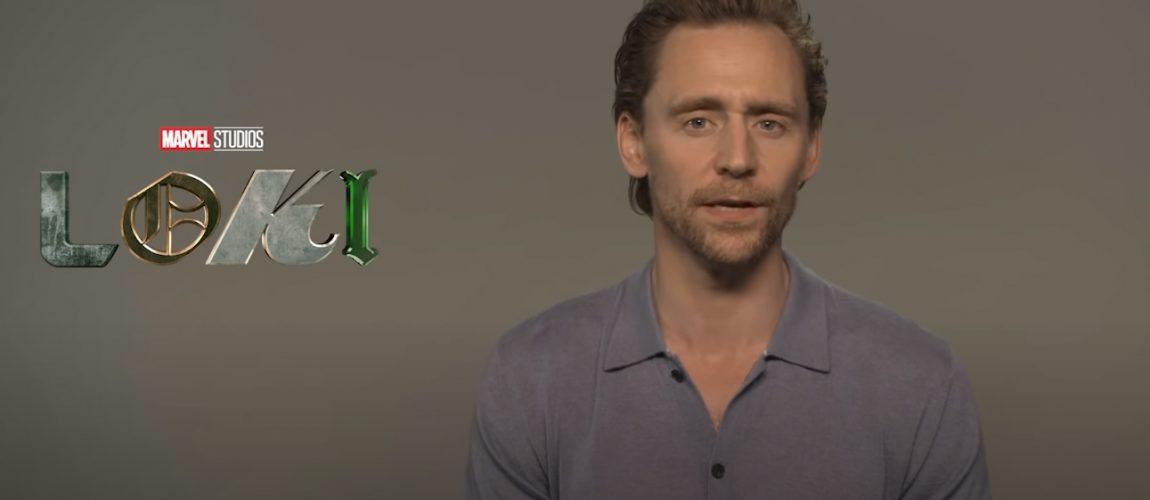 Tom Hiddleston Interviews and Press Junkets for Loki Compilation
