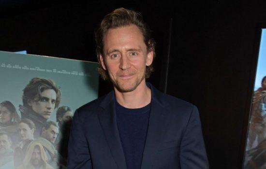 Tom Hiddleston attends Dune Screening in London